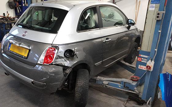 Praktische informatie bij autoschade
